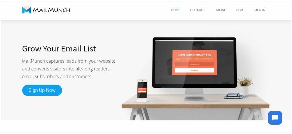 Mailmunch: List Building Tool