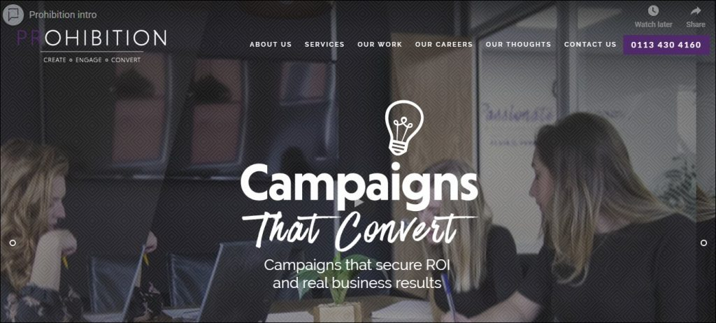 Prohobition - Content Marketing Agencies in Europe