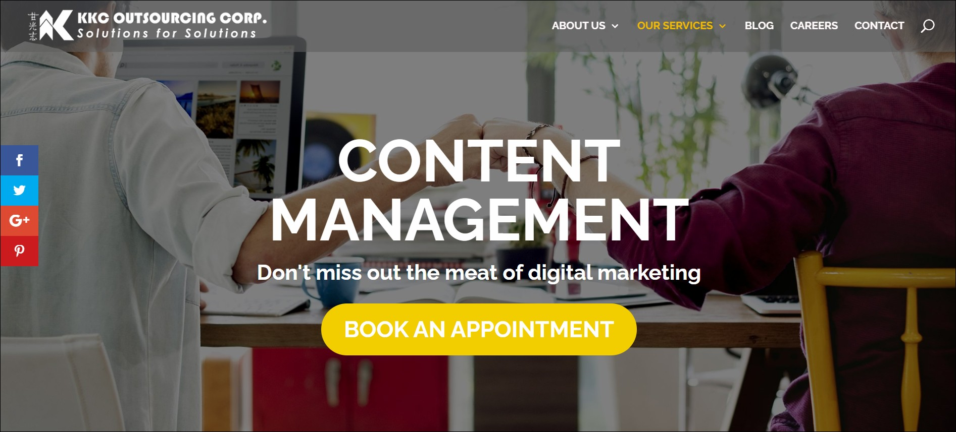 KKC Outsourcing Corporation: content marketing agencies in South East Asia