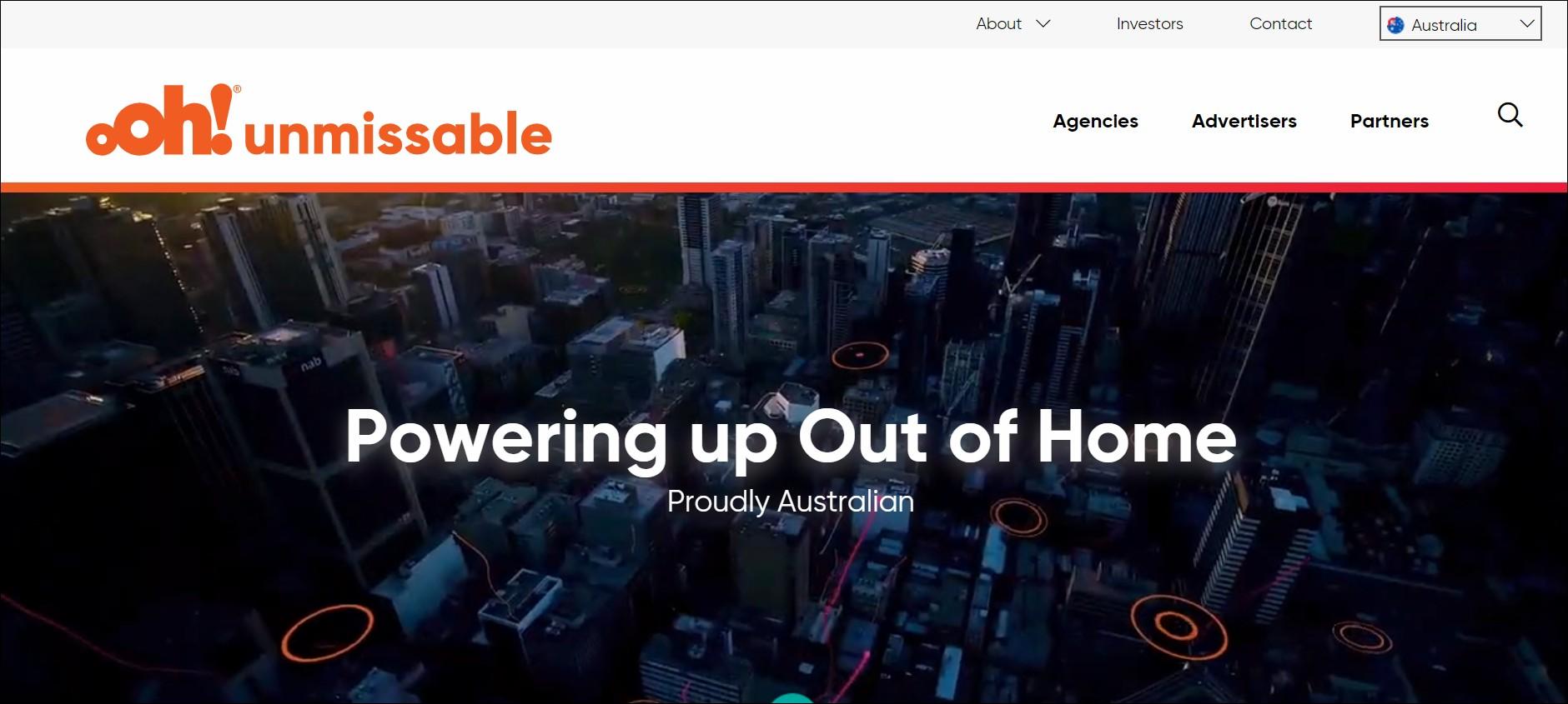 ooh: advertising agencies in Australia