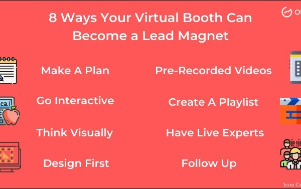 8 Ways Your Virtual Booth Can Become a Lead Magnet