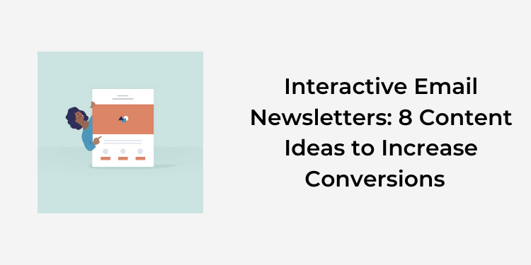 interactive email newsletters