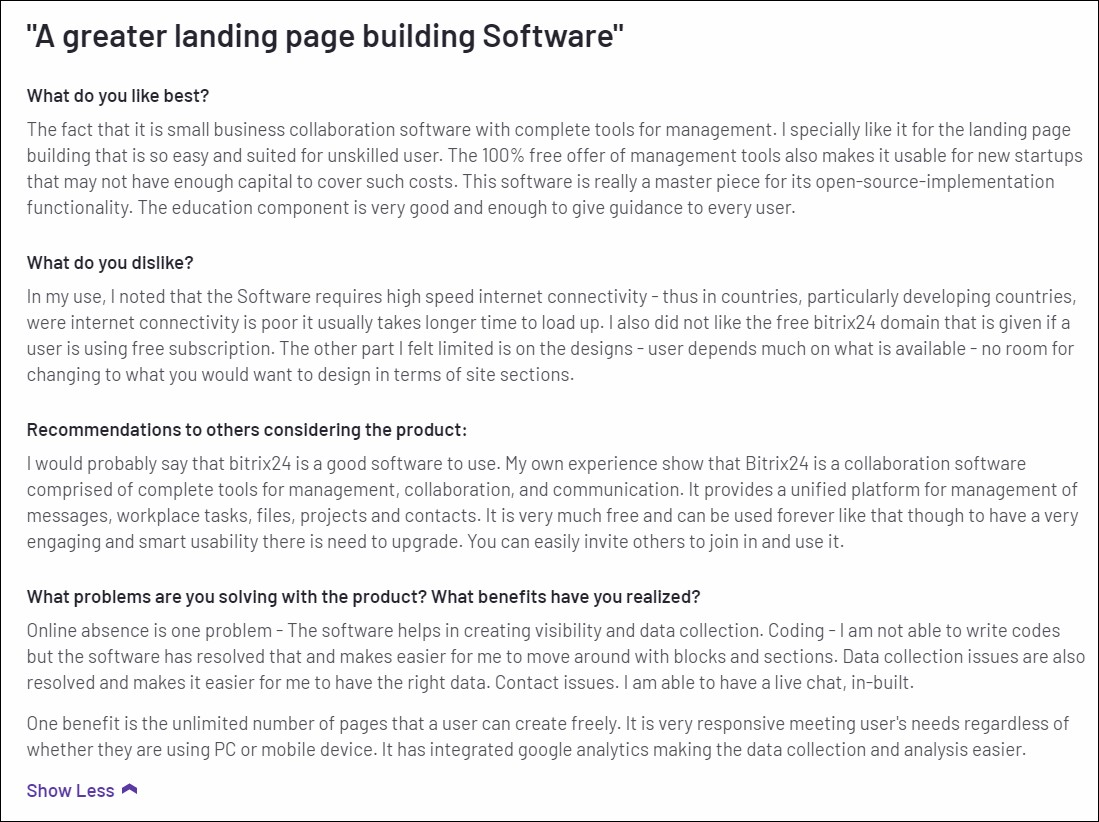 landing page software