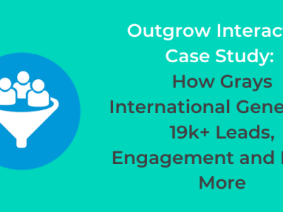 Outgrow Interactive Case Study: How Grays International Generated 19k+ Leads
