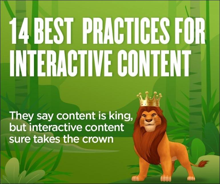 Interactive Content best practices