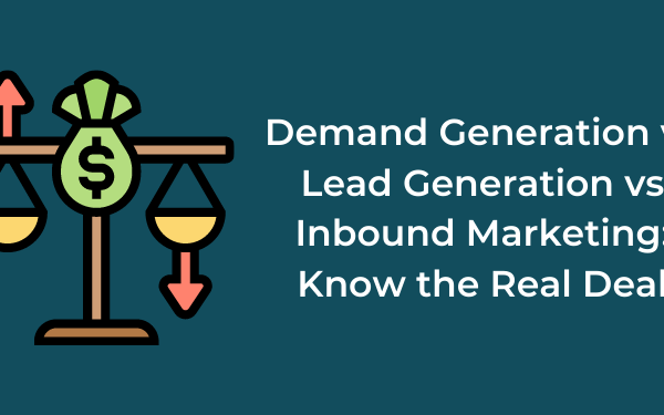 demand generation vs lead generation