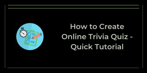 create online trivia quiz