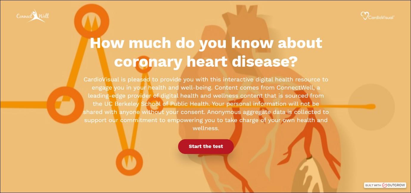 Coronary Heart Disease Knowledge Test