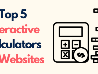 Top 5 Interactive Calculators for Websites