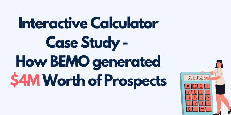 Interactive Calculator Case Study