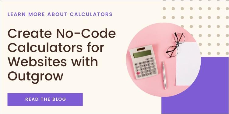 interactive calculators for websites