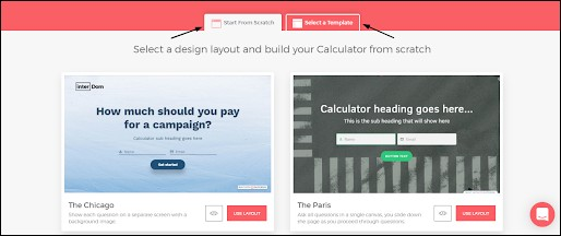 Outgrow Layouts and Templates