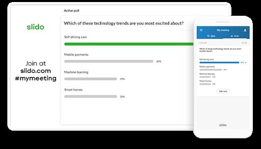 online poll makers - Slido