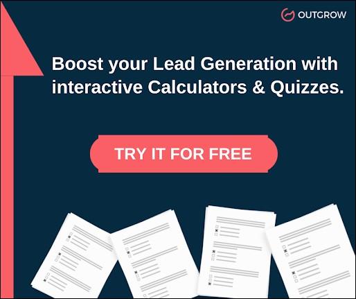Outgrow interactive content builder