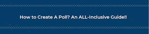 How to create a poll